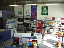 Inside the Wimmera Bearings store